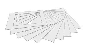 Oprema za izlaganje umjetnina na papiru