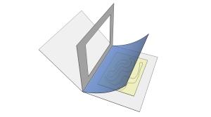 Oprema s preklopom za pohranu umjetnine na papiru